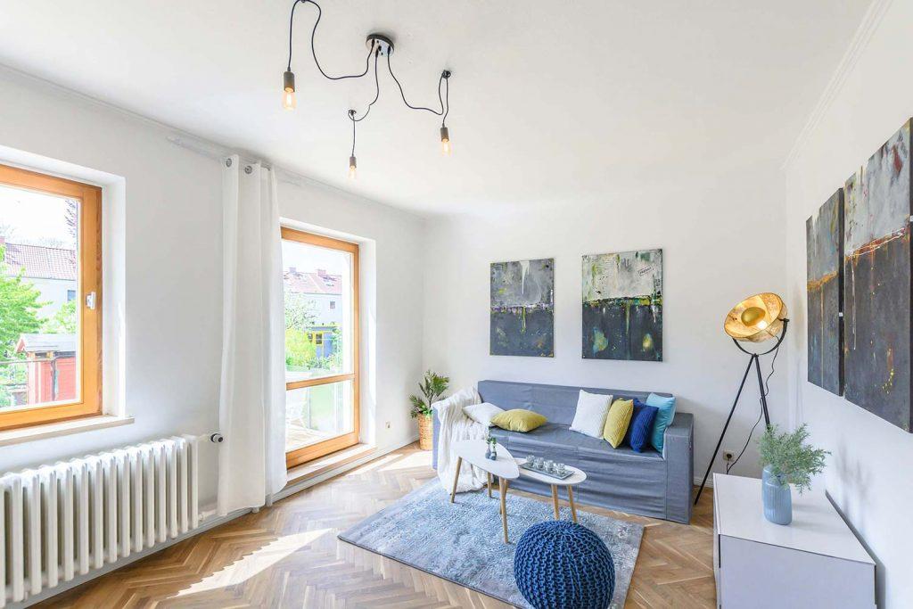 Home Staging Rügen - Vorher - Nachher