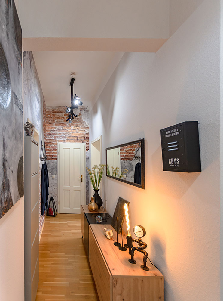 Flur nachher - DECO Home Staging